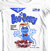 Boo-berry Cereal T-shirt Free Shipping Retro 80s Frankenberry Chocula Cotton Tee