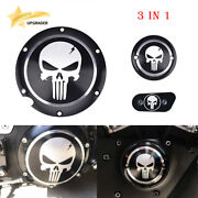 Skull Accessories Engine Derby Timer Cover For Harley Sportster Xl883 1200 48 72