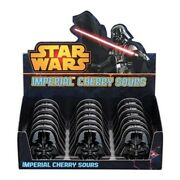 Star Wars Darth Vader Imperial Cherry Sours Candy Box Of 18 Embossed Tins Sealed