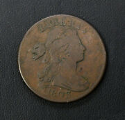 1803 Draped Bust 1c One Cent Piece S-251 R-2 1/100th Cent See Pictures