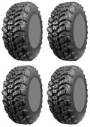 Four 4 Interco Sniper 920 Atv Tires Set 2 Front 28x10-14 And 2 Rear 28x10-14