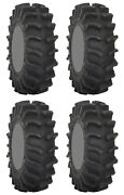 Four 4 System 3 Xm310 Atv Tires Set 2 Front 35x9.5-18 And 2 Rear 35x9.5-18