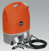 Sealey Pw1712 17l 12v Rechargeable Pressure Washer