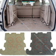 For 2002-2007 Toyota Land Cruiser Lc100 Trunk Floor Mat Carpet Protection Cover