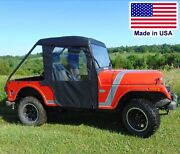 Mahindra Roxor Full Enclosure - Solid Hard Windshield Roof Doors And Rear