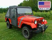 Mahindra Roxor Enclosure - Vented Hard Windshield Roof Doors Rear And Bed Cover