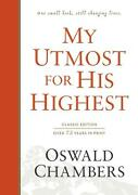 My Utmost For His Highest Classic Language Hardcover By Oswald Chambers Englis