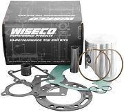 Yamaha Yz490 Wr500 84-93 Wiseco Top End Kit Piston 89 Mm + Top End Gasket Pk1821