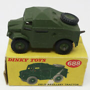 Vintage Meccano Dinky Toys 688 Field Artillery Tractor Diecast Vehicle Boxed
