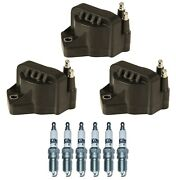 3 Gm Oe Ignition Coils And 6 Acdelco Spark Plugs Kit For Buick Chevy Olds Ponty V6