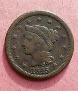 1845 - 1854 Large Cents - Set Of 5