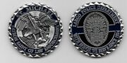 Largo Police State Florida Fl Challenge Coin St Michael Coin Neat