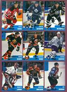 1999-00 Bap Be A Player Memorabilia Rookie Nhl Hockey Card 301 To 400 See List