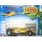 Hot Wheels 2002 Cold Blooded Series Vulture 077 Race And Win Card