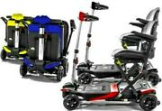 Transformer Light Weight Mobility Scooter Automatic Fold Enhance Mobility