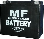 Battery Conventional For 2007 Honda Gl 1800 -7 Gold Wing No Acid