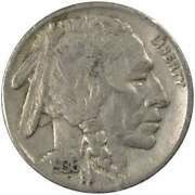 1936 S Indian Head Buffalo Nickel 5 Cent Piece F Fine 5c Us Coin Collectible