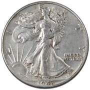1943 Liberty Walking Half Dollar Xf Ef Extremely Fine 90 Silver 50c Us Coin