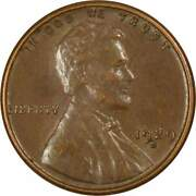1929 S Lincoln Wheat Cent Au About Uncirculated Bronze Penny 1c Coin Collectible