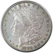 1880 S Morgan Dollar Au About Uncirculated 90 Silver 1 Us Coin Collectible