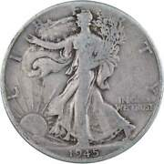 1945 D Liberty Walking Half Dollar Ag About Good 90 Silver 50c Us Coin
