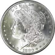 1880 S Morgan Dollar Bu Uncirculated Mint State 90 Silver 1 Us Coin