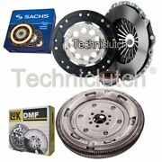 Sachs 3 Part Clutch Kit And Luk Dmf For Audi A6 Saloon 2.0