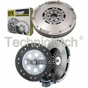 Nationwide 3 Part Clutch Kit And Luk Dmf For Bmw 5 Series Saloon 528i