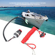 For Marine Mercury Tohatsu Outboard Engine Motor Kill Switch Safety Tether