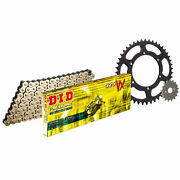 Did Upgrade Chain And Sprocket Kit Suit Honda Cb600 F5 Hornet 2005