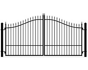 On Sale Veterans Discount Driveway Gate 11and039 Or 12and039 Inc Post Pkg Home Security
