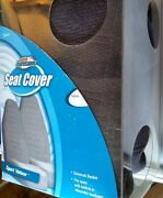 Gray Seat Cover Universal Bucket Car Suv New Sport Velour No Seat Airbags
