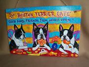 Custom Painted Bar And Grill Sign From Your Photo Hand Painting Dog Art Pet Cute