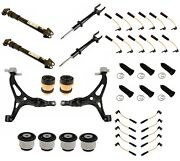 Custom Kit For Mercedes Front And Rear Shock Absorbers Control Arms And Sensors