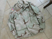 Us Army Dcu Cold Weather Field Jacket Coat Sz Small -long