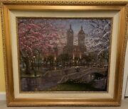 Robert Finale Painting Spring In The Park Limited Edition
