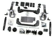 Zone Offroad 4 Suspension Lift Kit Dodge Ram 1500 13-18 4wd 2 Rear Spacers