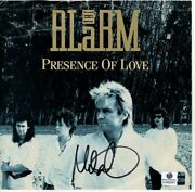 Mike Peters Auto Autographed 45 Record Cover The Alarm Presence Of Love Gv892907