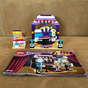 41004 Lego Complete Friends Pop Star Dressing Room Backstage Stage Instructions