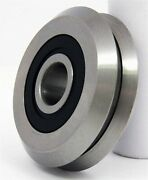 Srm2-2rs Stainless Steel 3/8 V-groove Guide Bearing Sealed Vgrooved