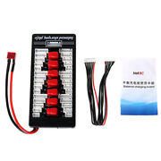 2s-6s Lipo Parallel Charging Board Charger Plate T Plug For Imax B6 B6ac B8 6in1