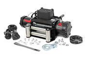 Rough Country 9500 Lb Electric Winch | 100 Ft Steel Rope | Fairlead Remote Hook