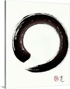 Enso - Embracing Imperfection Canvas Wall Art Print Home Decor