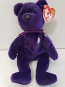 1997 Princess Diana Beanie Baby W/ Tag W/ Pe Pellets Made In China Ty