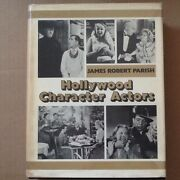 Hollywood Character Actors Bios Carridine Lanchester Frawley Pickens Photo Hc/dj