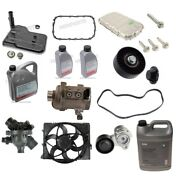 Custom Kit For Bmw Water Pump And Thermostat Transmission Filter Oil Pan And Gasket