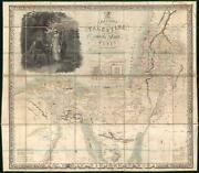 1835 Seatonand039s Map Of The Holy Land Israel And Palestine