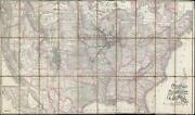 1893 Rand Mcnally Map Of The Chicago Milwaukee And St. Paul Railway