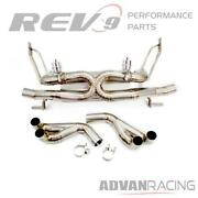 For R8 V8 08-12 Catback Exhaust Kit Titanium Vacuum Valve Controlled