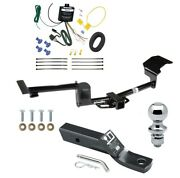 Trailer Tow Hitch For 15-17 Lincoln Mkt Complete Package W/ Wiring And 1-7/8 Ball